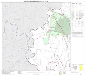 Primary view of object titled '2010 Census County Block Map: Grimes County, Block 13'.