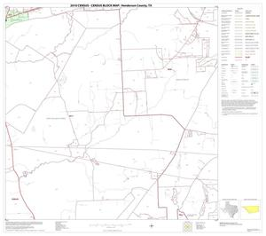 Primary view of object titled '2010 Census County Block Map: Henderson County, Block 20'.