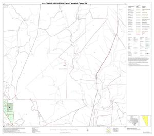 Primary view of object titled '2010 Census County Block Map: Maverick County, Block 6'.