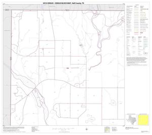 Primary view of object titled '2010 Census County Block Map: Hall County, Block 1'.