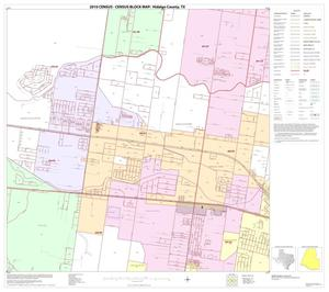 Primary view of object titled '2010 Census County Block Map: Hidalgo County, Block 85'.