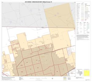 Primary view of object titled '2010 Census County Block Map: Midland County, Block 2'.
