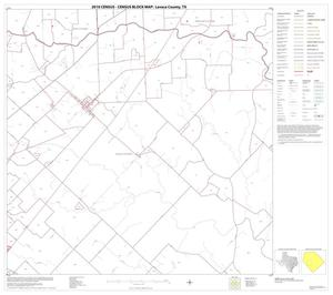 Primary view of object titled '2010 Census County Block Map: Lavaca County, Block 11'.