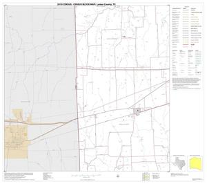 Primary view of object titled '2010 Census County Block Map: Lamar County, Block 15'.