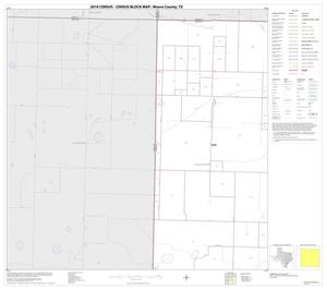 Primary view of object titled '2010 Census County Block Map: Moore County, Block 1'.