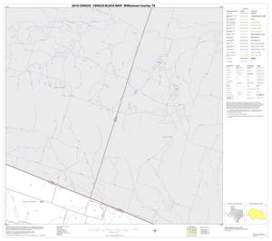 Primary view of object titled '2010 Census County Block Map: Williamson County, Block 13'.