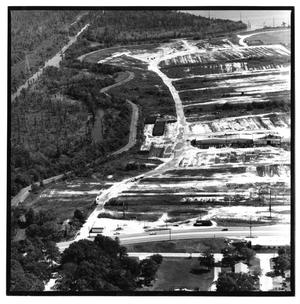 Primary view of object titled '[Aerial View of Simmons Drive in Orange, Texas]'.