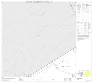 Primary view of object titled '2010 Census County Block Map: Coryell County, Block 1'.