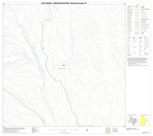Primary view of object titled '2010 Census County Block Map: Brewster County, Block 93'.
