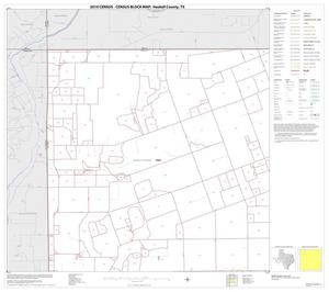 Primary view of object titled '2010 Census County Block Map: Haskell County, Block 1'.