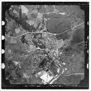 Primary view of object titled '[Aerial View of Orange, Texas]'.
