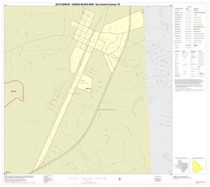 Primary view of object titled '2010 Census County Block Map: San Jacinto County, Inset D01'.
