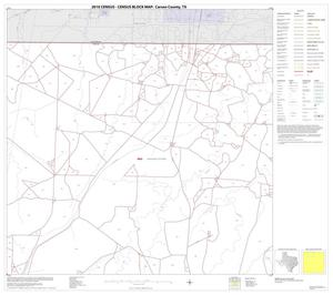 Primary view of object titled '2010 Census County Block Map: Carson County, Block 2'.