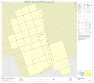Primary view of object titled '2010 Census County Block Map: Montgomery County, Inset B01'.