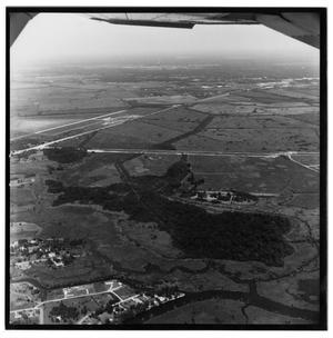Primary view of object titled '[Aerial View of Southeast Texas]'.