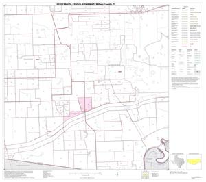 Primary view of object titled '2010 Census County Block Map: Willacy County, Block 9'.