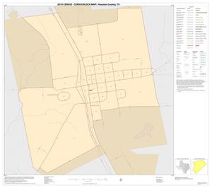 Primary view of object titled '2010 Census County Block Map: Houston County, Inset D01'.