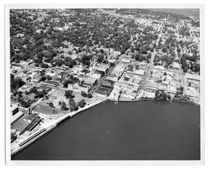 [Aerial view of Sabine River]