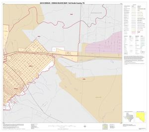 Primary view of object titled '2010 Census County Block Map: Val Verde County, Inset F02'.