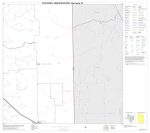 Primary view of object titled '2010 Census County Block Map: Clay County, Block 19'.