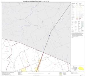 Primary view of object titled '2010 Census County Block Map: Williamson County, Block 4'.