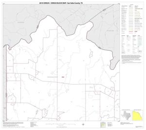Primary view of object titled '2010 Census County Block Map: San Saba County, Block 1'.