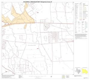 Primary view of object titled '2010 Census County Block Map: Montgomery County, Block 23'.