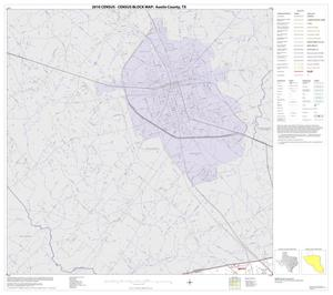 Primary view of object titled '2010 Census County Block Map: Austin County, Block 1'.