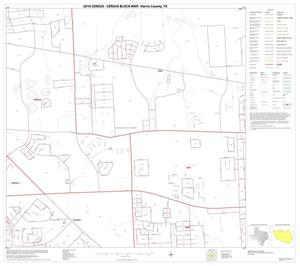 Primary view of object titled '2010 Census County Block Map: Harris County, Block 30'.