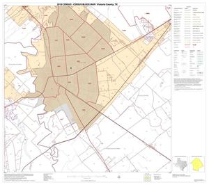 Primary view of object titled '2010 Census County Block Map: Victoria County, Block 11'.