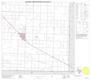 Primary view of object titled '2010 Census County Block Map: Castro County, Block 9'.