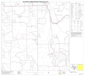 Primary view of object titled '2010 Census County Block Map: Stephens County, Block 10'.