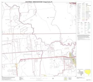 Primary view of object titled '2010 Census County Block Map: Orange County, Block 16'.