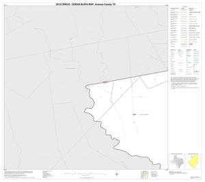 Primary view of object titled '2010 Census County Block Map: Aransas County, Block 1'.