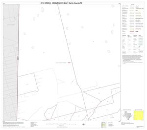 Primary view of object titled '2010 Census County Block Map: Martin County, Block 9'.