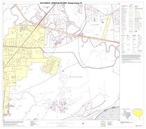 Primary view of object titled '2010 Census County Block Map: Orange County, Block 22'.