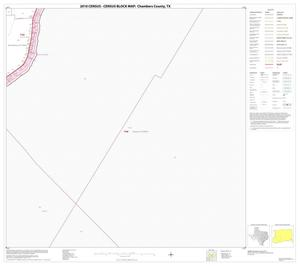 Primary view of object titled '2010 Census County Block Map: Chambers County, Block 12'.