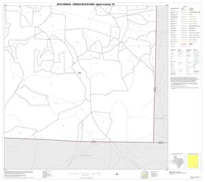 Primary view of object titled '2010 Census County Block Map: Upton County, Block 12'.