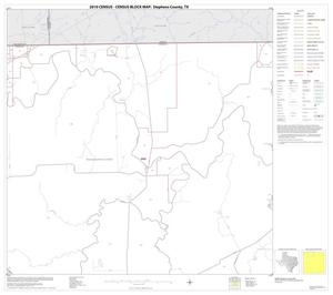 Primary view of object titled '2010 Census County Block Map: Stephens County, Block 2'.