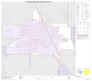 Primary view of object titled '2010 Census County Block Map: Castro County, Inset B01'.