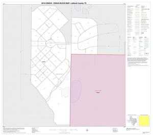 Primary view of object titled '2010 Census County Block Map: Lubbock County, Inset E01'.