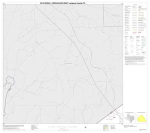 Primary view of object titled '2010 Census County Block Map: Lampasas County, Block 3'.