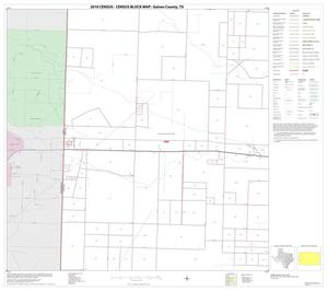 Primary view of object titled '2010 Census County Block Map: Gaines County, Block 6'.