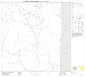 Primary view of object titled '2010 Census County Block Map: Crockett County, Block 24'.