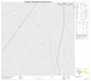 Primary view of object titled '2010 Census County Block Map: Angelina County, Block 23'.