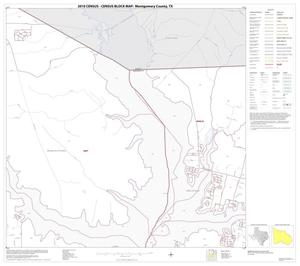 Primary view of object titled '2010 Census County Block Map: Montgomery County, Block 7'.