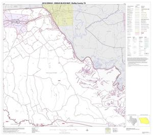 Primary view of object titled '2010 Census County Block Map: Shelby County, Block 4'.