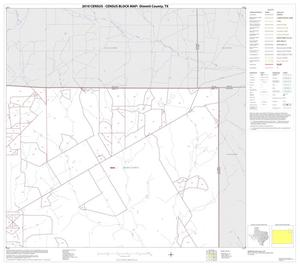 Primary view of object titled '2010 Census County Block Map: Dimmit County, Block 5'.