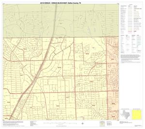Primary view of object titled '2010 Census County Block Map: Dallas County, Block 6'.