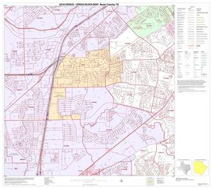 Primary view of object titled '2010 Census County Block Map: Bexar County, Block 26'.